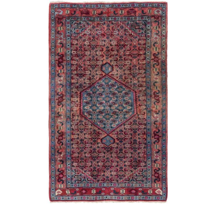 127cm x 213cm Sanandaj Persian Rug