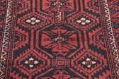 4' x 8' 10 Balouch Persian Runner Rug thumbnail