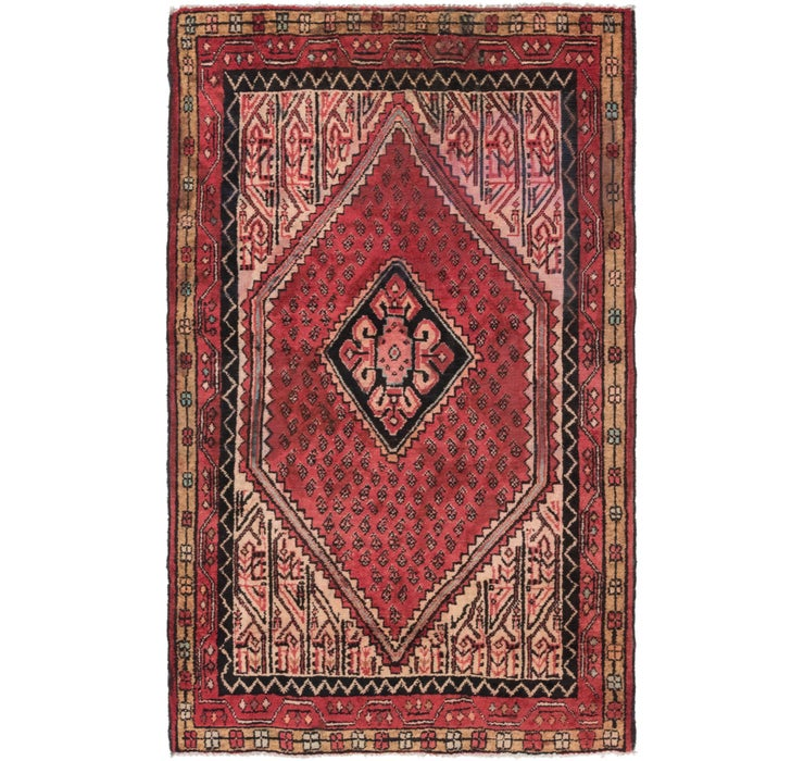 4' x 6' 7 Farahan Persian Rug