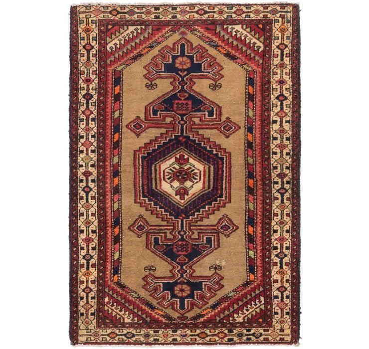 3' 7 x 5' 4 Zanjan Persian Rug