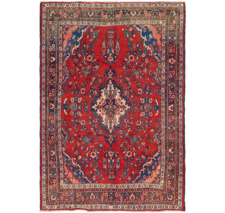 6' 7 x 9' 6 Hamedan Persian Rug