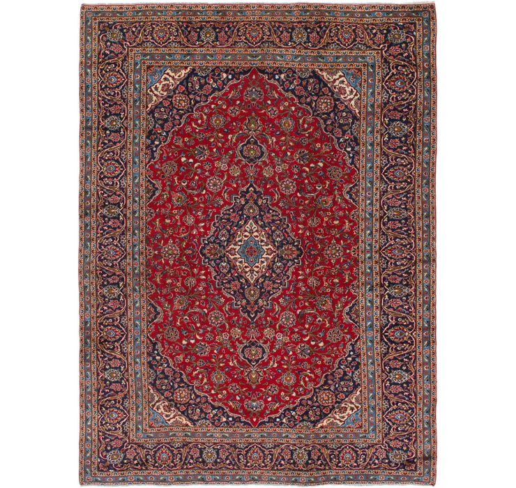 292cm x 385cm Kashan Persian Rug
