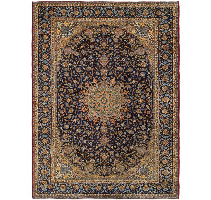 9' 10 x 13' 4 Isfahan Persian Rug