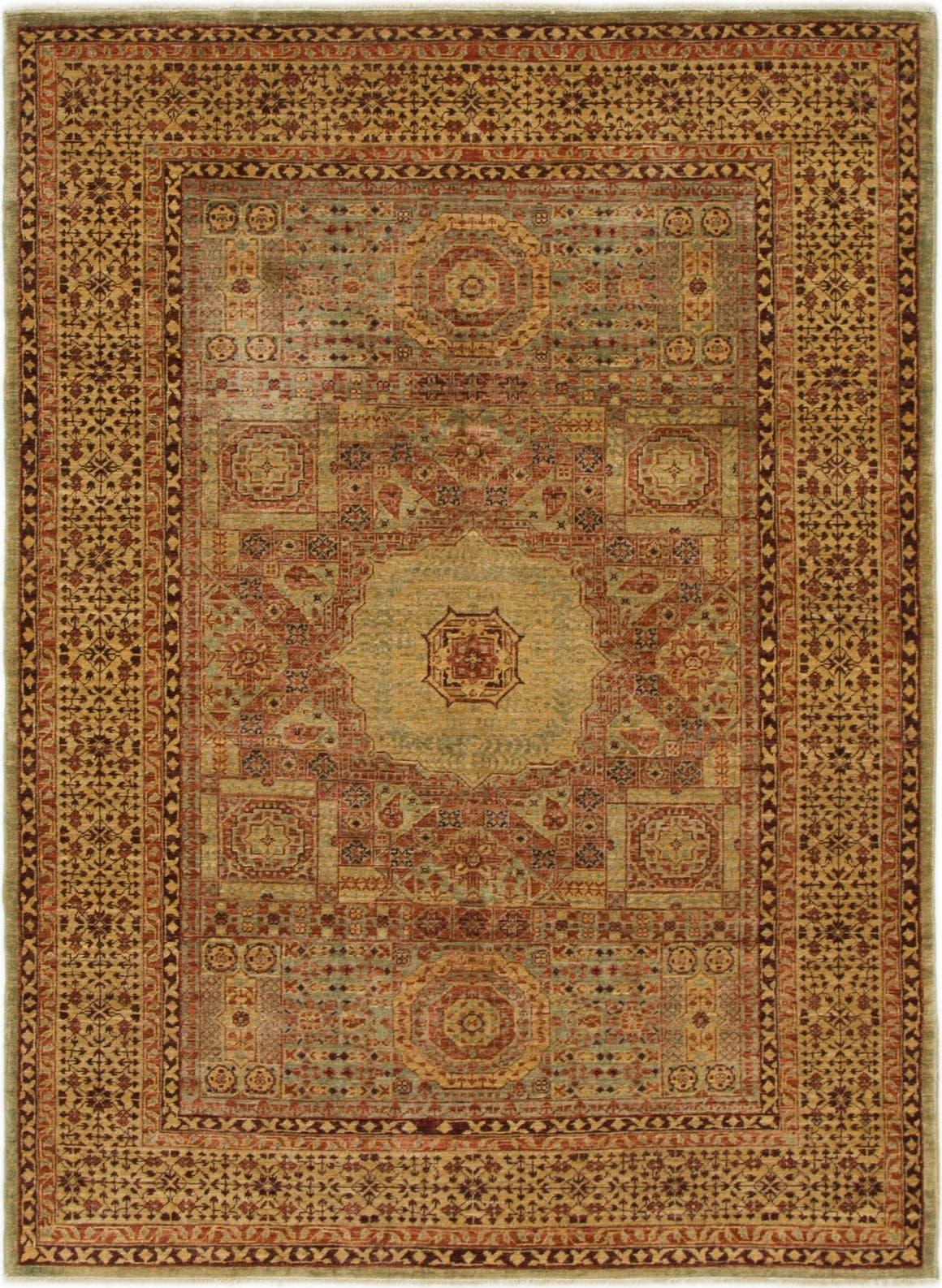4' 3 x 5' 10 Mamluk Ziegler Oriental Rug main image
