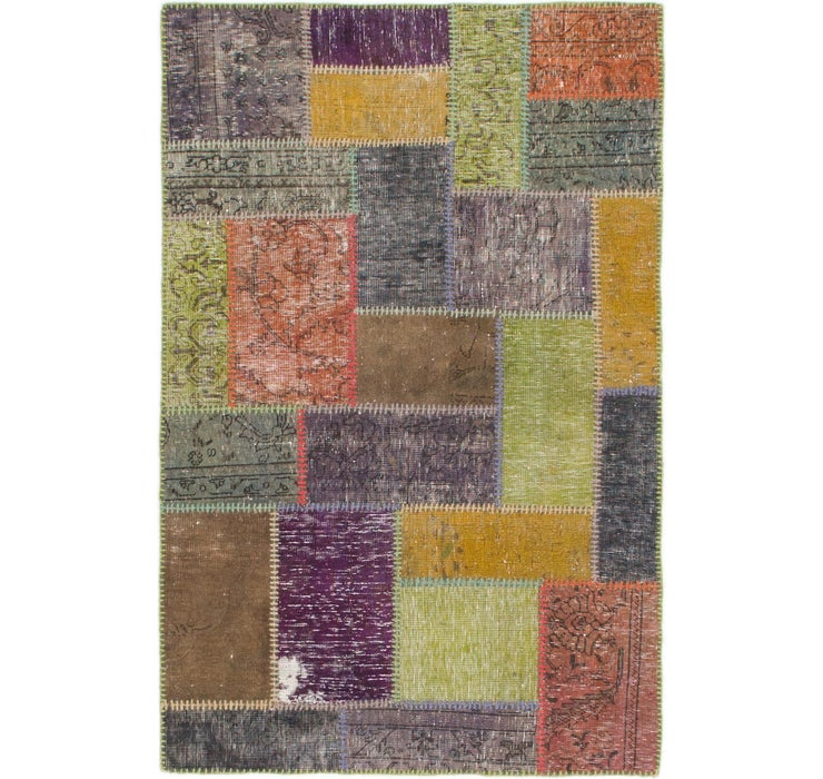 3' 5 x 5' 2 Ultra Vintage Persian Rug