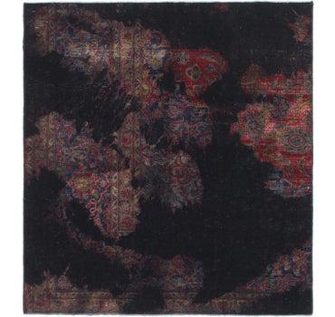 4' x 4' 4 Ultra Vintage Persian Square Rug main image