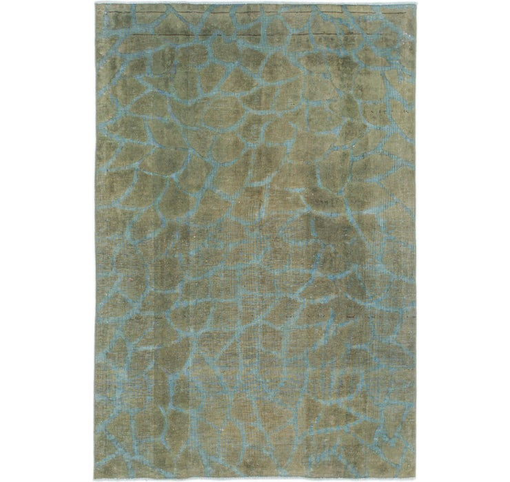102cm x 152cm Ultra Vintage Persian Rug