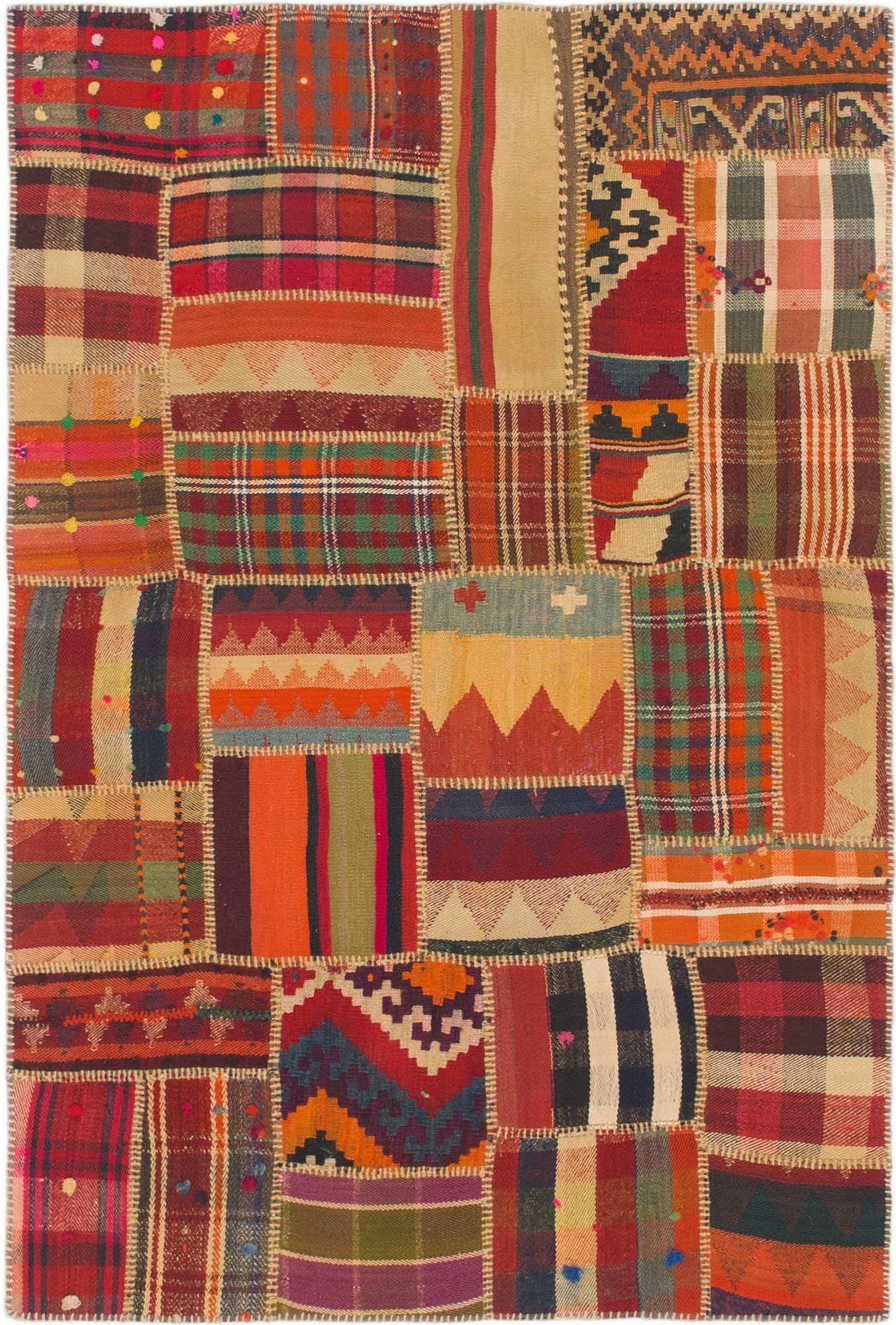 Kilim Patchwork Persian Rug