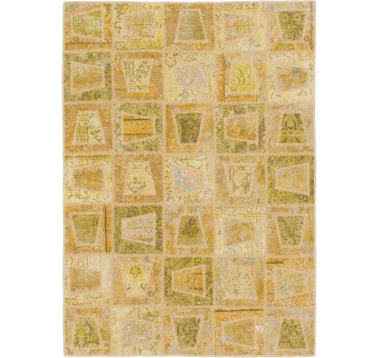127cm x 175cm Ultra Vintage Persian Rug
