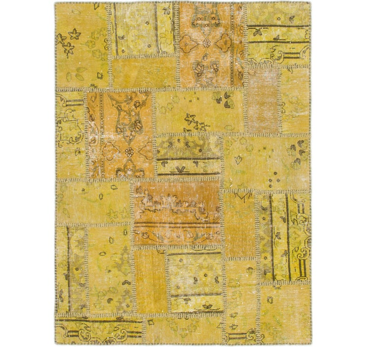 3' 9 x 5' Ultra Vintage Persian Rug