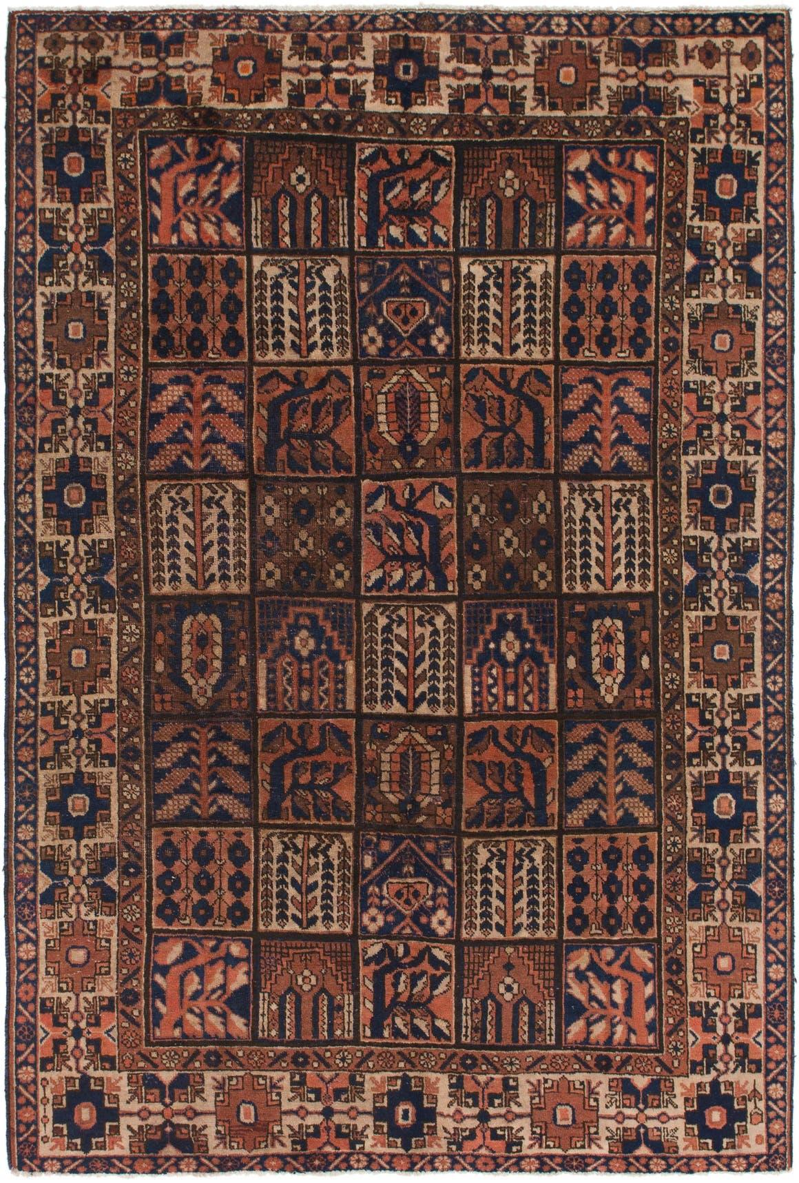 6' 9 x 10' Bakhtiar Persian Rug main image