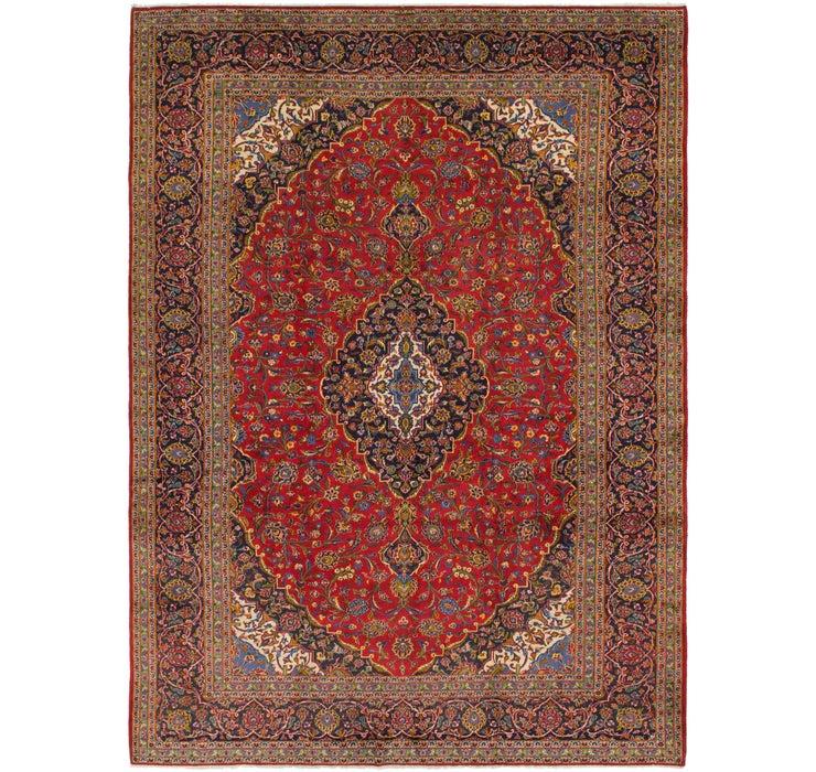 297cm x 405cm Kashan Persian Rug