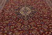 9' 7 x 13' 5 Kashan Persian Rug thumbnail