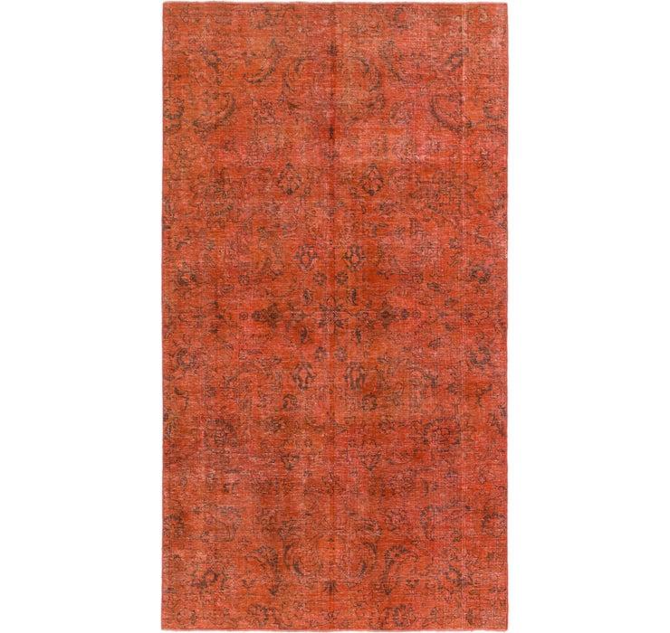 4' 9 x 8' 7 Ultra Vintage Persian Rug