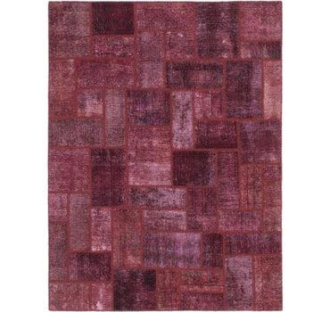 5' 2 x 5' 7 Ultra Vintage Persian Square Rug main image