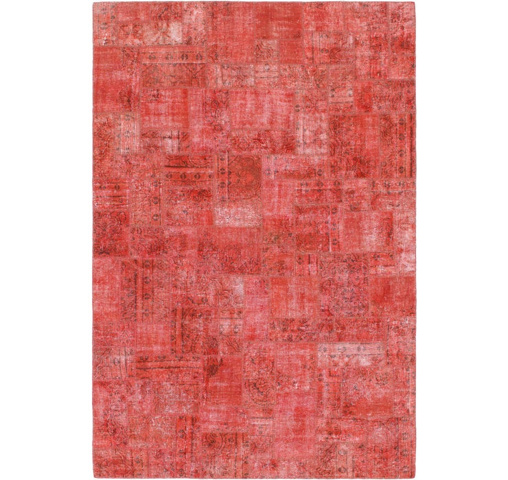 6' 5 x 9' 8 Ultra Vintage Persian Rug