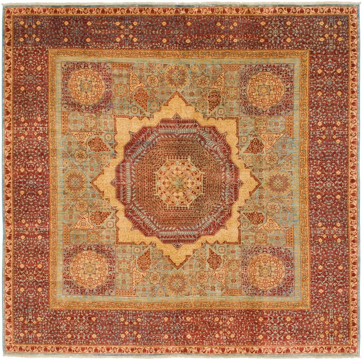 9' 8 x 10' Mamluk Ziegler Oriental Square Rug main image