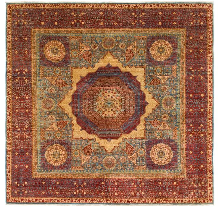9' 10 x 10' 2 Mamluk Ziegler Oriental...