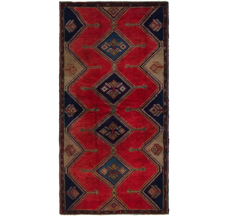 112cm x 225cm Chenar Persian Runner Rug