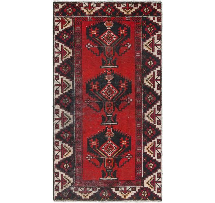 107cm x 195cm Shiraz Persian Rug