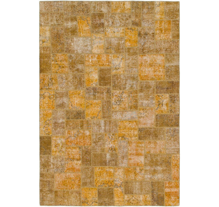 7' x 9' 10 Ultra Vintage Persian Rug