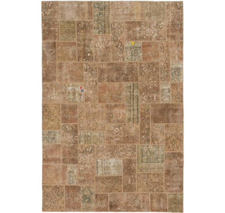 6' 10 x 10' 2 Ultra Vintage Persian Rug