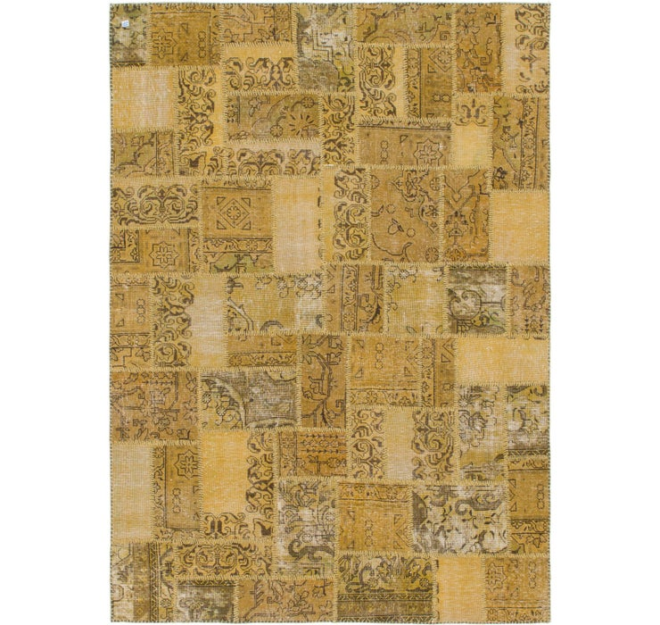 183cm x 257cm Ultra Vintage Persian Rug