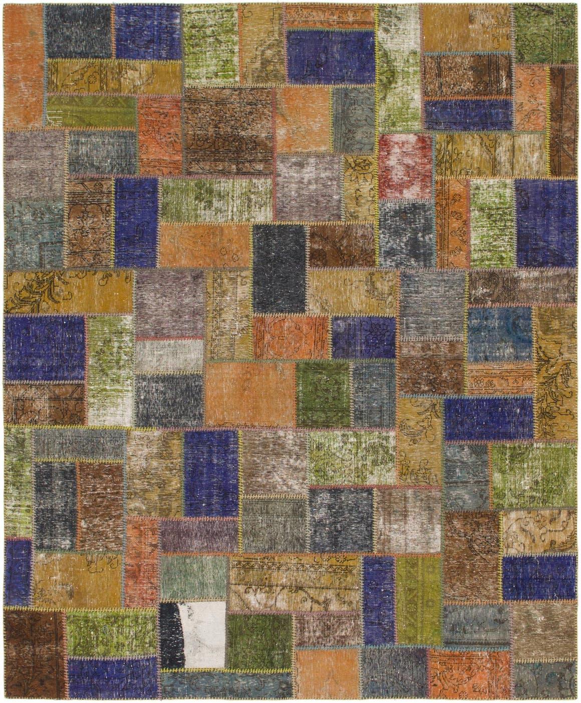 8' 3 x 10' Ultra Vintage Persian Rug main image