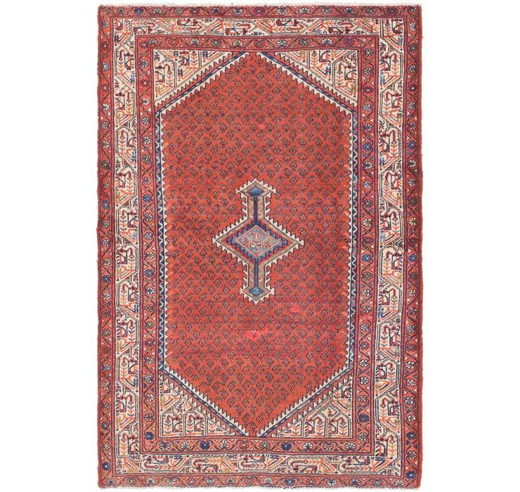4' 4 x 6' 8 Farahan Persian Rug