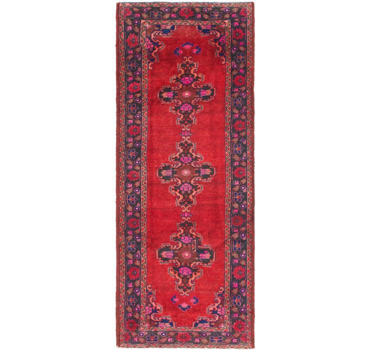 3' 7 x 9' 10 Ferdos Persian Runner Rug