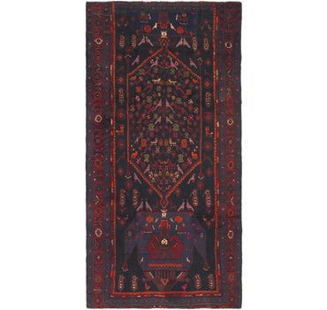 4' 10 x 10' Kelardasht Persian Runner Rug main image