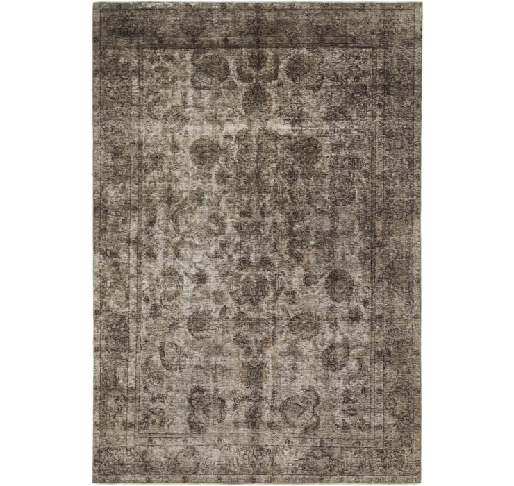200cm x 295cm Ultra Vintage Persian Rug
