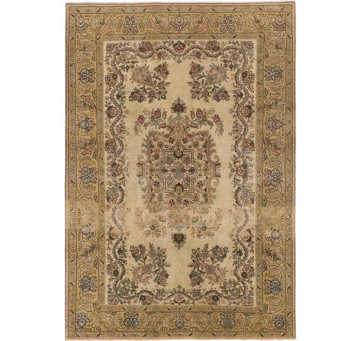 7' x 10' 2 Ultra Vintage Persian Rug