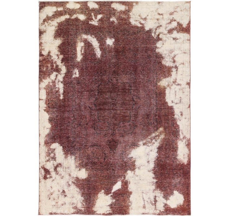 6' 10 x 9' 10 Ultra Vintage Persian Rug