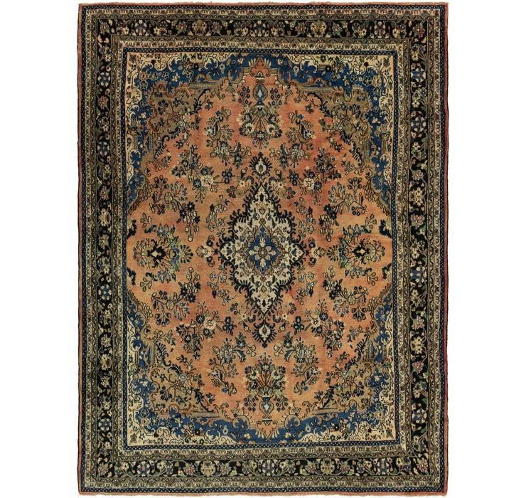 9' 10 x 13' Hamedan Persian Rug