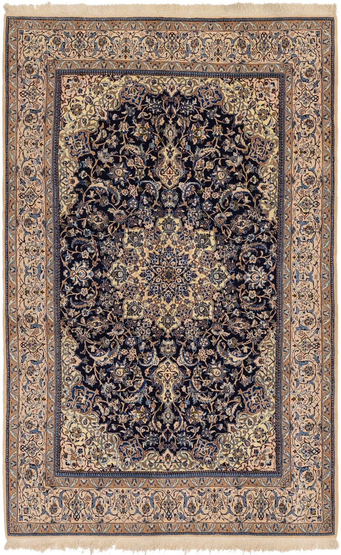 6' 8 x 10' 5 Nain Persian Rug main image