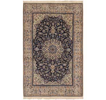 Image of 6' 8 x 10' 5 Nain Persian Rug