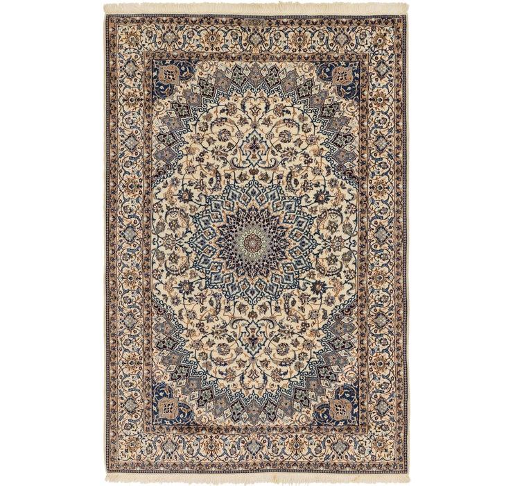 205cm x 315cm Nain Persian Rug