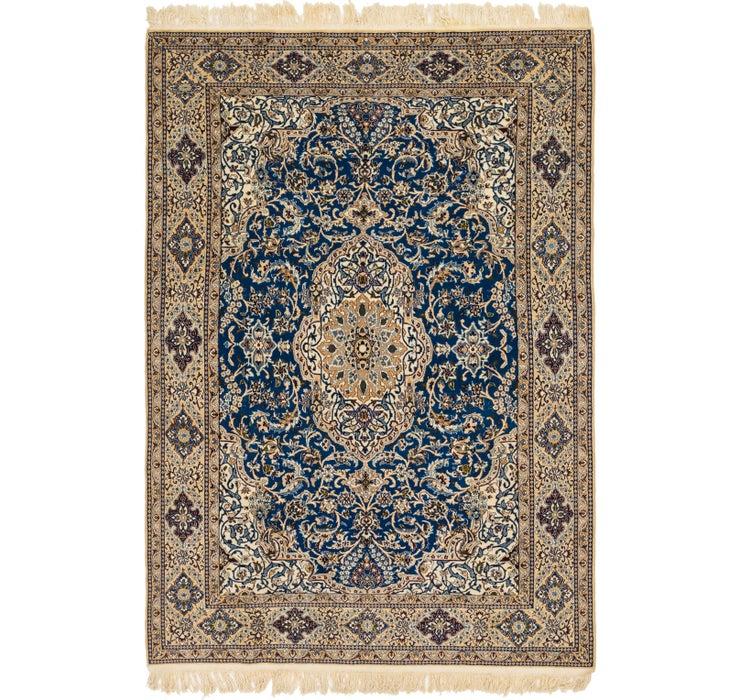 6' 10 x 10' Nain Persian Rug