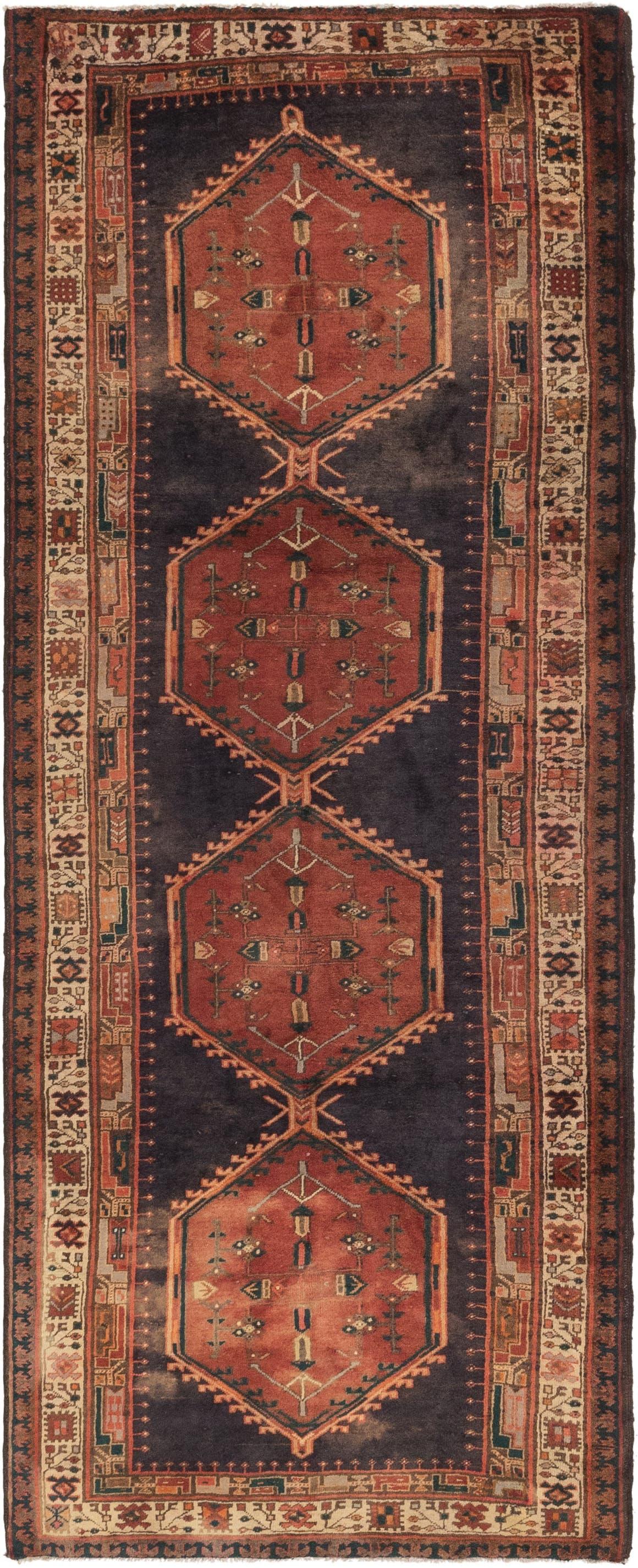 4' x 10' 9 Meshkin Persian Runner Rug main image