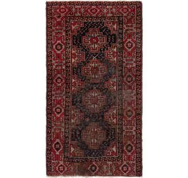 Image of 3' 9 x 6' 10 Balouch Persian Rug