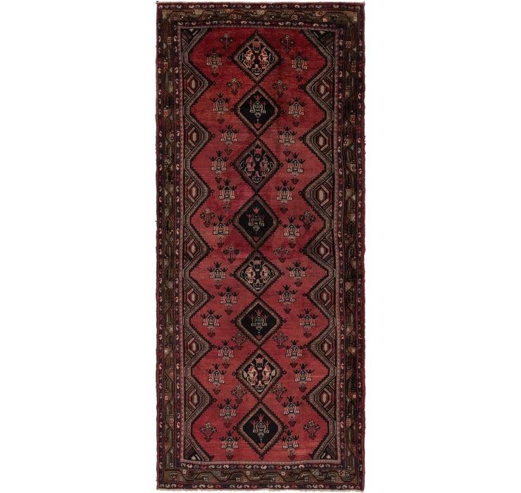 4' 3 x 10' 6 Chenar Persian Runner Rug