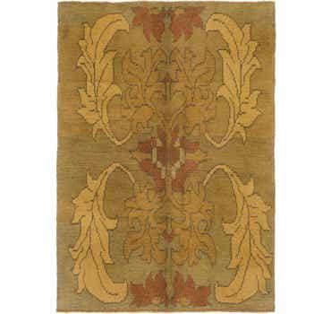 Image of 4' 2 x 5' 10 Oushak Rug