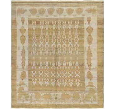 Image of  12' 7 x 14' 9 Oushak Rug