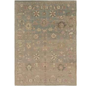 Image of 10' 8 x 15' Oushak Rug