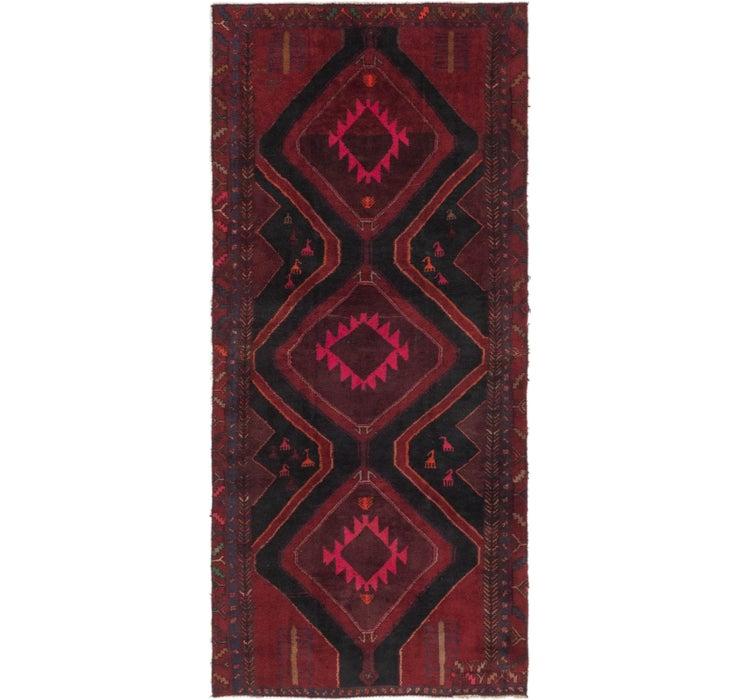 130cm x 292cm Sirjan Persian Runner Rug