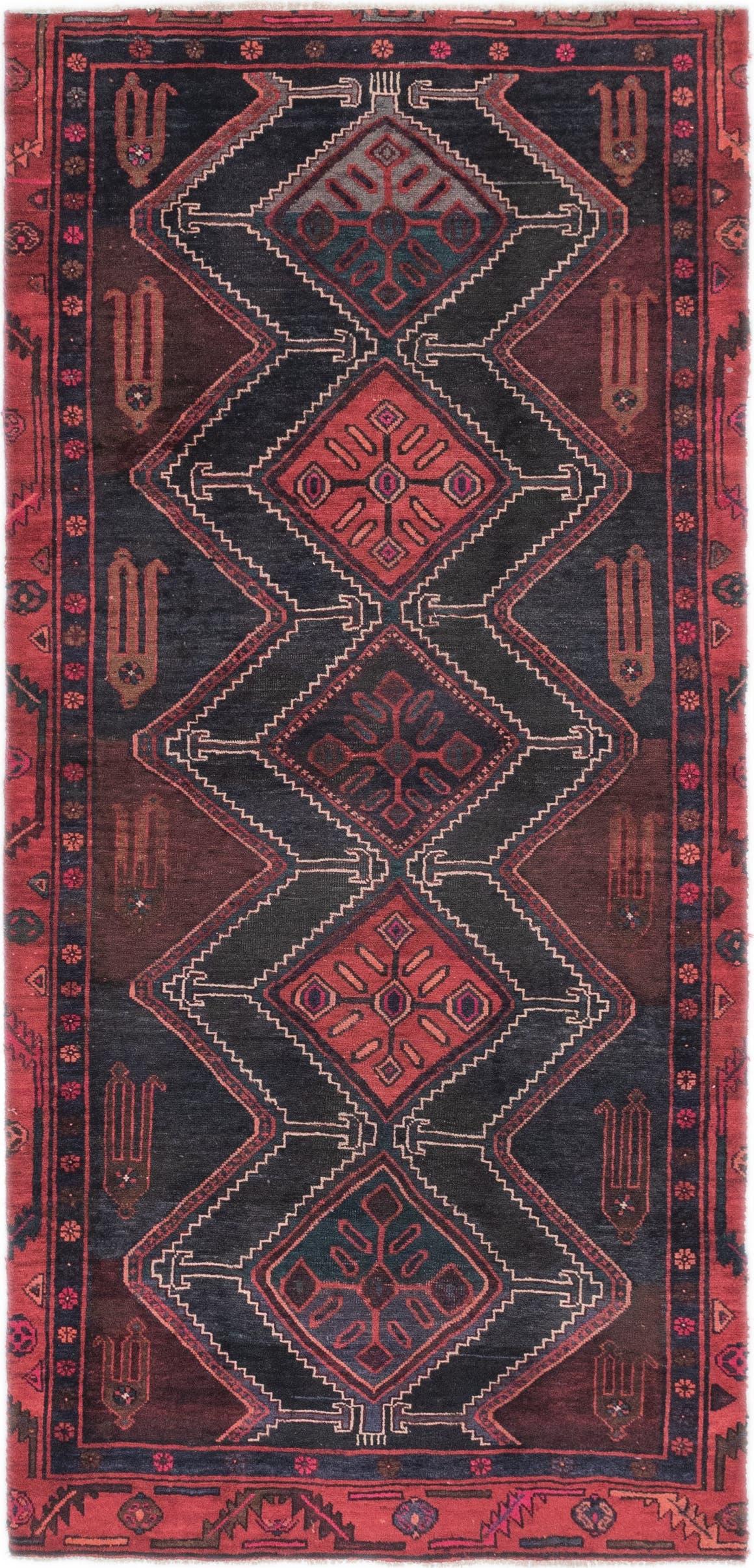 4' 3 x 9' Koliaei Persian Runner Rug main image