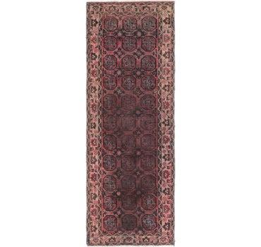 3' 5 x 9' 3 Balouch Persian Runner Rug main image