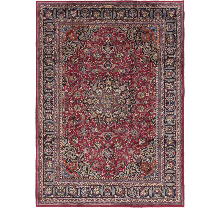 8' 9 x 12' Mashad Persian Rug