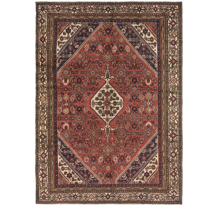 6' 10 x 9' 5 Hossainabad Persian Rug